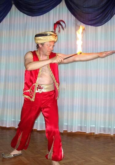 Снимка на огнегълтач.