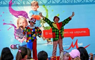 Снимка на клоуни